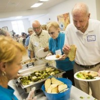 Naples News: Happy reunion post-storm at senior lunch